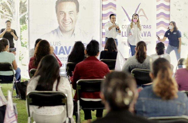 Para las mamás, los mejores programas en mi gobierno, anuncia Luis Nava